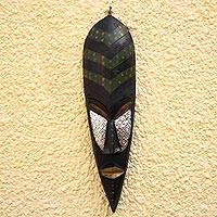 Ewe wood mask,