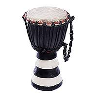 Kpanlogo drum, 'Black and White Beat' - Kpanlogo drum