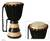Kpanlogo drum, 'Black and White Beat' - Kpanlogo drum thumbail