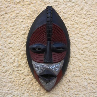 Ewe wood mask, 'Reconcile'