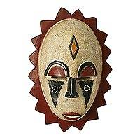 Malian wood mask, 'Her Tears' - Malian wood mask