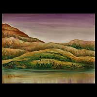 'Landscape II' - African Landscape Painting