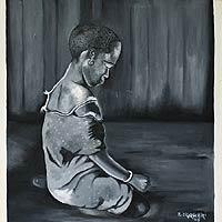 'Silent Slumber' - Realist Portrait Painting
