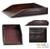 Leather desk tray, 'Paper House' - Handmade Leather Desk Tray (image 2) thumbail