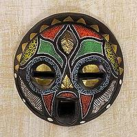African wood mask, 'Girl Grows Up'
