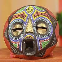 Nigerian wood mask,