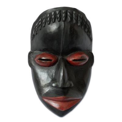 Dan wood mask, 'Girl's Initiation' - Dan wood mask