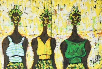 Cotton Batik Wall Art