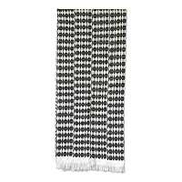 Cotton kente cloth scarf, 'Victor' - Cotton kente cloth scarf