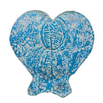 Unique Heart Shaped Ceramic Vase