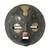 Ghanaian wood mask, 'Sign of Protection' - African Wood Mask thumbail