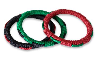 Bangle bracelets, 'New Hope' (set of 3) - Bangle bracelets (Set of 3)