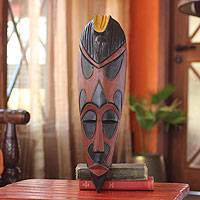 African wood mask, 'Abanbo' - African wood mask