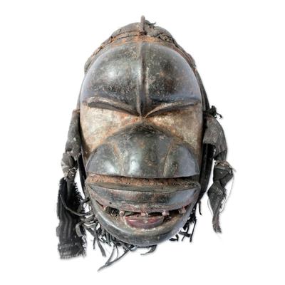 Unique Ivory Coast Wood Mask