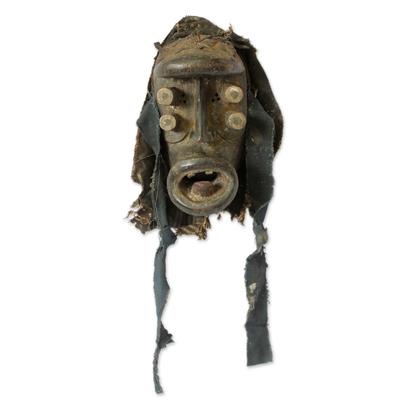 Ivoirian wood mask, 'Spirit of War' - Ivoirian wood mask