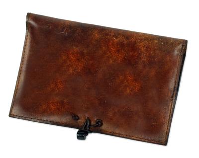 Leather Kindle case,