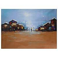 'Noon Day' (2012) - Original African Fine Art Painting