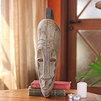 African wood mask, 'Dance'
