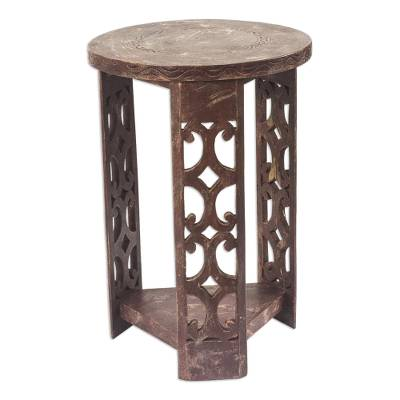 Unique Wood Accent Table from Africa