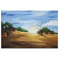 'Daybreak' - Original African Landscape Painting