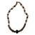 Agate and tiger's eye beaded necklace, 'Victory' - Agate and tiger's eye beaded necklace thumbail