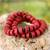 Beaded stretch bracelets, 'Ohene Ba' (pair) - Beaded stretch bracelets (Pair) (image 2) thumbail
