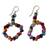 Beaded earrings, 'Obrempon' - Hand Made Agate Earrings from Africa thumbail