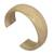 Leather cuff bracelet, 'Annula in Beige' - Hand Made Leather Cuff Bracelet (image 2b) thumbail