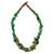 Agate beaded necklace, 'Obaahema' - Agate beaded necklace thumbail
