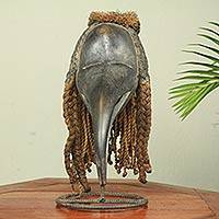 African mask, 'Dan Spirit of Darkness' - Handcrafted African Mask from the Dan Tribe of Liberia