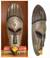 African mask, 'Akan Prince' - Hand Carved African Mask from Ghana thumbail