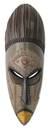 African mask, 'Akan Prince' - Hand Carved African Mask from Ghana (image 2a) thumbail