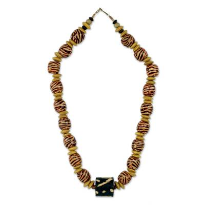 Artisan Crafted Necklace Ghana Beaded Jewelry