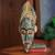 African mask, 'Honesty' - Ghanaian Handcrafted African Mask thumbail