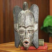 African mask, 'Wings' - Winged African Mask