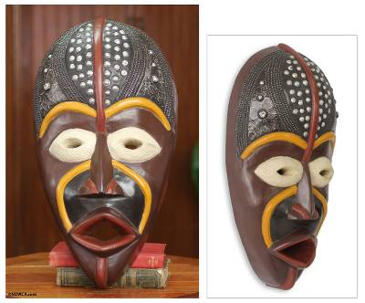 African Mask Hausa Bad Boy