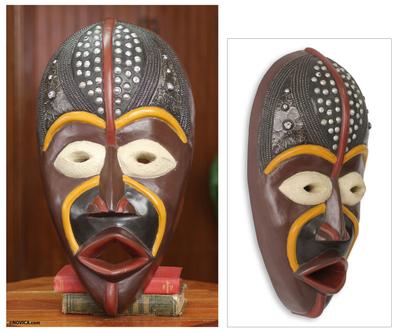 African Mask Hausa Bad Boy
