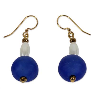 Handmade Recycled Glass Earrings
