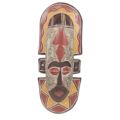 Handcrafted African Mask to Catch More Fish
