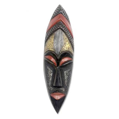 Akan Artisan Crafted African Mask