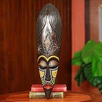 African mask, 'Ashanti Warrior Queen'