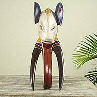 African wood mask, 'Guro Elephant II'