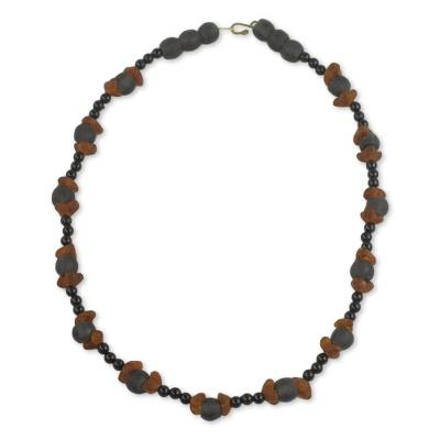 Handcrafted Eco Friendly African Beaded Necklace