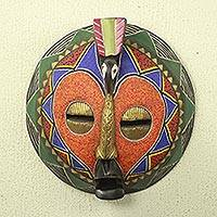 African beaded mask, 'Akoma Bird'