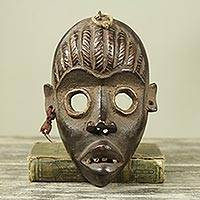 African wood mask, 'Dan Protection II'