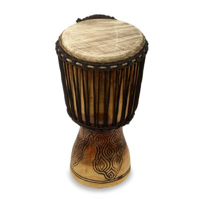 18 Inch Handcrafted West African Djembe Drum