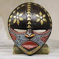 African wood mask, 'Barowa'