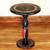 Wood accent table, 'Africa' - Hand Carved Circular Wood Accent Table from Ghana (image 2) thumbail