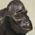 Wood statuette, 'Walking Gorilla' - Hand Carved Sese Wood Gorilla Statuette from Ghana (image 2b) thumbail