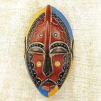African wood mask, 'Uzoma'